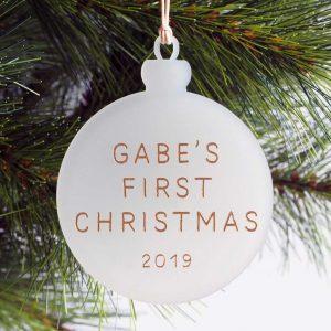 Bauble ornament