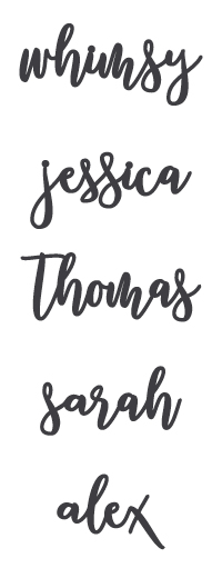 Whimsy Font